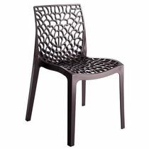 Cadeira Gruvyer Chumbo Italiana Polipropileno
