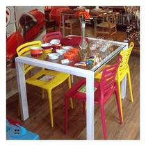 Kit De 4 Cadeiras Sofia Tramontina
