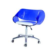 Cadeira Acrílica Envelope Base Office