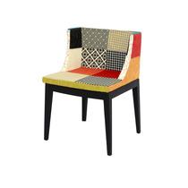 Cadeira Mademoiselle Em Madeira Ou Policarbonato - Patchwork