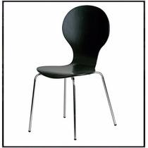 Cadeira Formiga Em Polipropileno - Preto