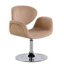 Cadeira Tulipa Poltrona Giratória 360° Rodas