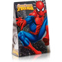 10 Caixa Trapezio Homem Aranha, Tema Aniversário Sacola