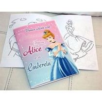 Livrinho Para Colorir Personalizado Tam. M - 15 Und. R$22,50
