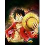 Caderno Personalizado - One Piece Luffy (10 Mat./200 Folhas)