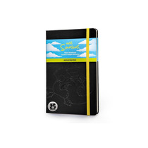 Caderno Moleskine Original The Simpsons G - Sem Pauta 4279
