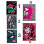Caderno Monster High 1 Matéria Cd 1 Un - Tilibra