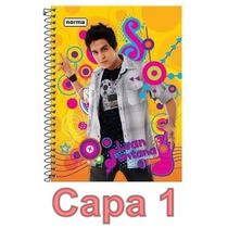Caderno Luan Santana 12 Materias 240 Folhas Escolha Sua Capa