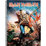 Caderno Iron Maiden 16 Materias 320 Folhas