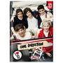 Caderno Brochura 1/4 One Direction Capa Dura 96 Folhas
