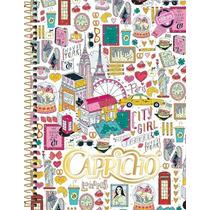 Caderno Capricho 10 Matérias 2015 Capa De Viagem