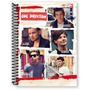 Caderno Universitario One Direction Capa Dura 96 Folhas