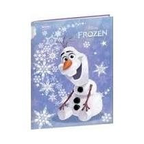 Caderno Frozen Brochurão Capa Dura 96fls