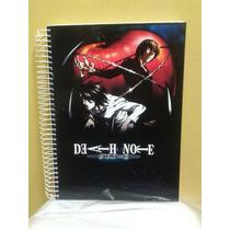 Caderno De Anime Death Note Novo- 10 Materias - 200 Folhas