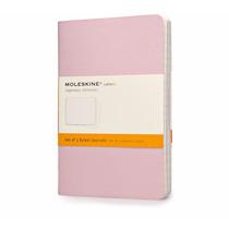 Caderno Moleskine Cahier Pautado De Bolso Tris Pastel - 0608