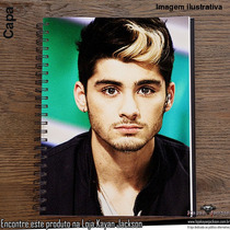 Caderno Zayn Malik (one Direction)