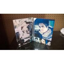 Caderno De Anotações Luan Santana Com Adesivos