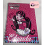 Caderno Personalizado Com Nome Do Monster High De 1 Materia