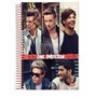 Caderno One Direction Capa Dura 1 Materia 96 Folhas