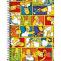Caderno Espiral Capa Dura 1/4 Simpsons 96fls