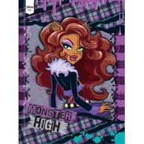 Caderno Brochura Capa Dura 1/4 Monster High 96f Tilibra