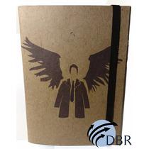 Caderno Sketchbook Estilo Moleskine Supernatural
