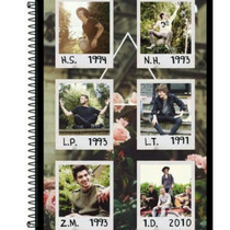 Caderno One Direction 1d 1 Matéria