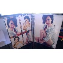 Kit Demi Lovato Caderno 1m + Camisa + Poster + Agenda
