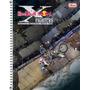Caderno Espiral Capa Dura Universitário Red Bull 10 Matérias