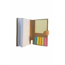 Kit 10 Unid. Bloco De Anotações Cubo C/ Caneta