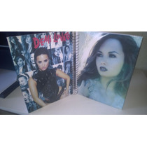 Cadernos Demi Lovato 10 Materias Com Adesivos