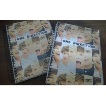 2 Cadernos One Direction 16 Materias