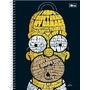 Caderno Universitário Capa Dura 01x1 Simpsons 96fls