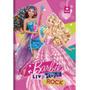 Caderno Brochura Capa Dura Barbie Rock