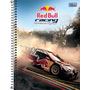 Caderno Espiral Capa Dura Universitário 10 Matérias Red Bull