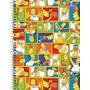 Caderno Espiral Capa Dura 1 Matéria Simpsons 96fls