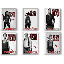 The Walking Dead- Kit Com 2 Cadernos 10 Matérias.