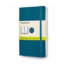 Caderno Moleskine Original Azul G Capa Flex S Pauta 3715
