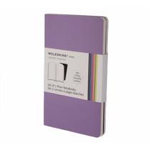 Caderno Moleskine Volant - Grande - Sem Pauta - Roxo 3407
