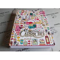 Caderno Capricho - 20 Matérias/400 Folhas/ Tema Viagem