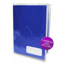 Capa Plástica Para Caderno Brochurao 96 Transparente C /20
