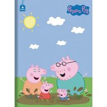 Caderno Brochura Capa Dura Peppa Pig 48fls