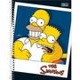 Caderno Simpsons 96 Folhas Capa Dura Universitário 4 Modelos