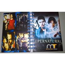 Caderno Supernatural 1 Materia