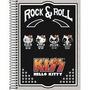 Caderno Rock E Roll Hello Kitty 200 Folhas Tilibra