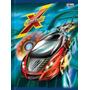 Caderno Brochura Capa Dura X-racing Carros Tilibra 96f