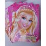 Caderno Cd Brochurao Barbie 96 Folhas Foroni Pacotes C/5 Und
