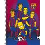 Caderno Espiral Capa Dura 200fls Simpsons Barcelona