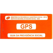 Carnê Guia Recolhimento Da Previdência Social Inss - Tamoio