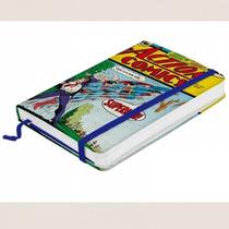 Caderneta Caderno Anotações Superman Dc Comics Quadrinhos Hq